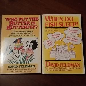 Two Vintage First Edition Softcover Books